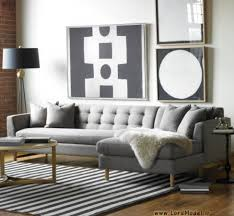 Sectional Living Room Ideas by Contemporary Living Room Design With Edward L Shaped Sectional