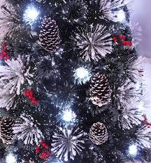 Flocked 65 Pre Lit Christmas Tree by Amazon Com Snowy White Pine Pre Lit Flocked Christmas Tree