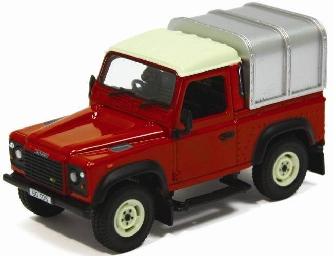 Tomy Britains Big Farm Land Rover Defender Die-Cast Model Toy - 1:32 Scale