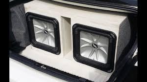 100 Speaker Boxes For Trucks Custom Speaker Box For 2 Kickers Using Laminate Flooring Instead Of