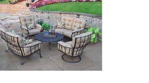 Meadowcraft Patio Furniture Dealers by 50 Off Meadowcraft Vinings Deep Seating Wrought Iron Patio
