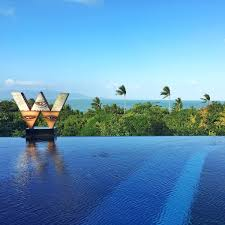 100 W Hotel Koh Samui Thailand Kohsamui Twitter
