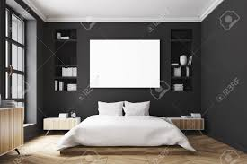 100 Modern Luxury Bedroom Interior Of A Modern Luxury Bedroom With Black Walls A Large