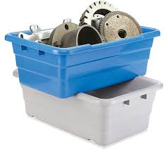 Christmas Tree Storage Tote With Wheels by Storage Bins Storage Containers Rubbermaid Totes In Stock Uline