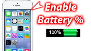 How To Show Battery Percentage iOS 7 iPhone 5s 5c Tutorials