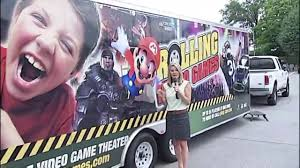 2019 New Business Idea | Rolling Video Games Mobile Video Game Truck