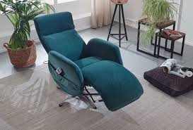 finebuy massagesessel elektrisch verstellbar samt grün komfort relaxsessel mit massagefunktion fernsehsessel mit liegefunktion drehbar für