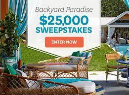 $25k Backyard Paradise Sweepstakes
