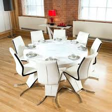 Round Dining Room Table Seats 8 Breathtaking Tables Seating Pertaining