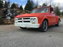 100 Chevy Stepside Truck For Sale 1967 GMC C10 C10 Hot Rod Shop 20 Inch Wheels