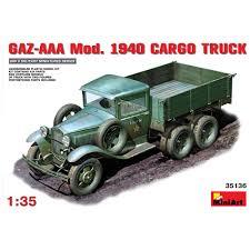 100 Aaa Truck MiniArt 135 35136 GAZAAA Model 1940 Cargo Model Kit EBay