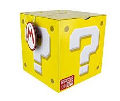 Mario Bros Question Block Lamp by Amazon Com Super Mario Bros Question Block Money Box Home