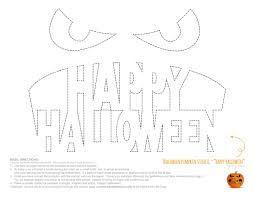Scary Pumpkin Faces Templates by The Nightmare Before Christmas Pumpkin Carving Patterns Free