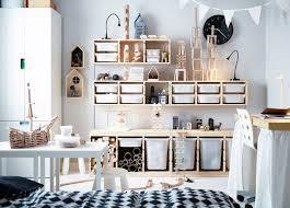 rangement de chambre idée rangement chambre enfant avec meubles ikea