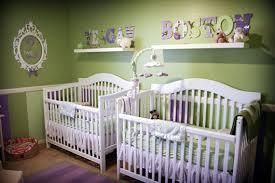 Cute Twin Baby Cribs And Nursery Design13