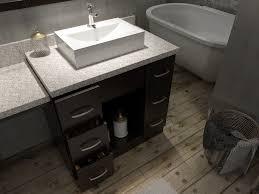 Bathroom Vanities With Matching Makeup Area by Ariel Roosevelt 97
