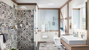orientalisches bad gestalten mit abstrakten mustern
