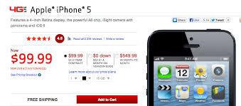 Verizon iPhone 5 Gets $100 Price Cut While Supplies Last