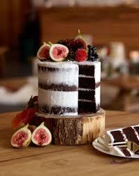 Chocolate Rustic Naked Cake