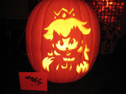 Ariel On Rock Pumpkin Carving Pattern by Princess Peach Pumpkin This Is What Livi Wants This Year