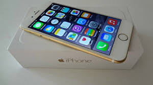 New In Box Apple iPhone 6 16GB Gold GSM Unlocked for ATT and T