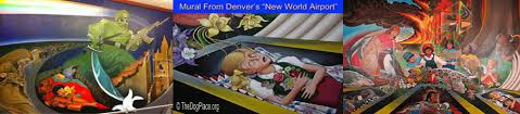 Denver International Airport Murals Removed by Denver Airport Sinister Symbolism Video Theater