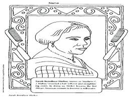 Parks Coloring Page Black History Month Print Pages For Preschoolers Rosa Sheets Pdf