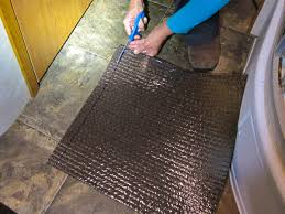Peel And Stick Carpet Tiles Cheap by How We Replaced The Carpet In Our Rv For Less Than 60 Trek With Us