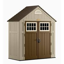 suncast alpine 3 ft 8 in x 7 ft 6 in resin storage shed