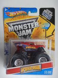 100 Spiderman Monster Truck SpiderMan Jam 5580 TattooHot Wheels2011 Now