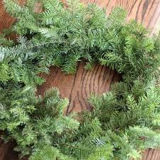 Christmas Tree Types Artificial by How To Make A Wreath Using Your Leftover Christmas Tree Branches