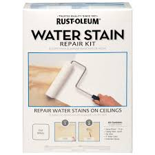 Zinsser Popcorn Ceiling Patch Home Depot by Rust Oleum Water Stain Repair Kit 265658 The Home Depot