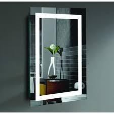 malisa 24 x 36 inch led lighted wall mirror civis usa creators
