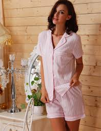 online buy wholesale pink striped pajamas from china pink striped