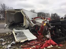 100 Fire Truck Accident Semi Crashes Into Smiths Grove Truck Sends One To Hospital