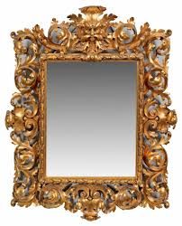 Lot 2103. Baroque Wall Mirror From The Catalog
