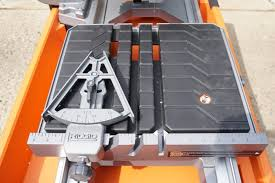Ridgid 7in Tile Saw With Laser by Ridgid 8