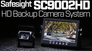 100 Backup Camera System For Trucks Safesight SC9002HD HD RVs Vans
