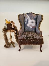 SOLD! Miniature Dollhouse White Rabbit Wingback Chair, 1:12 Scale. Az Of Fniture Terminology To Know When Buying At Auction Light Blue Rabbit Mini Velvet Chair Repair Those Loose Ding Chairs Yourself And Save Money Do You What Do My Baby Cradle Weston Table Wooden High Stool On Grey Background Stock Image Details About Waterproof 20 Hutch Pet Habitat Cages Bunny Small Animal House Vintage Wood Mid Century Childs Folding Potty By Toidey Shaker Style Is Back Again As Designers Celebrate The First Rare Thomas Edison Crib Little Folks Solid Bench Children Study Girl Ding 2849cm Kids Boys Ears C139 Nursery Fniture For 112th Dollhouse Sold Separately Framed Art Cabinet Theme