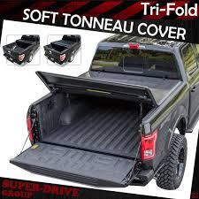 Tri Fold Tonneau Covers | Tri Fold Tonneau Hard Bed Cover By Rough ...