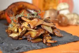 comment cuisiner les girolles fraiches tranches potimarron rôties et poêlée de cèpes recette bio