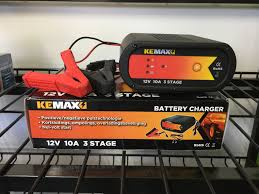 100 Heavy Duty Truck Battery Charger Kemax 3 Stage 10 Amp SUPER SPECIAL