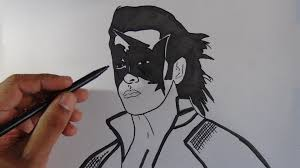 How To Draw Super Hero Krish
