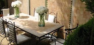 moroccan mosaic dining table decor so moroccan