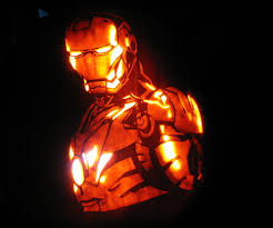 Electric Pumpkin Carving Knife by How To Carve Iron Man 10 Steps With Pictures