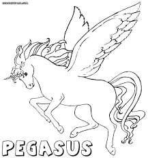 Bonanza Pegasus Coloring Pages Obsession To Download And Print 4545 Pictures