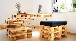 palette bureau chaise palette finest atelier bricolage chaise en palette with
