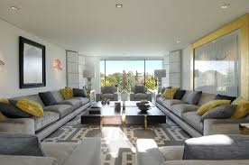 grey sectional living room for large room grey sectional living