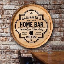 Wooden Home Bar Sign Official Neighborhood Bar Design Black With Golden Beer Mug Great Man Cave Decor Birthday Gift Wall Hanging