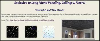 Vinyl Covered Sheetrock Ceiling Tiles by Ceilings Long Island Paneling Ceilings U0026 Floors